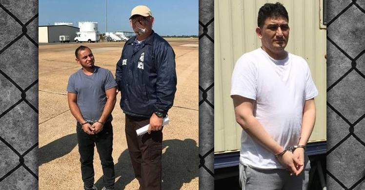 ICE removes 2 wanted by Salvadoran authorities to face criminal charges