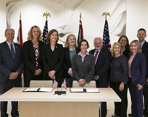 US, UK law enforcement sign proclamation against female genital mutilation/cutting