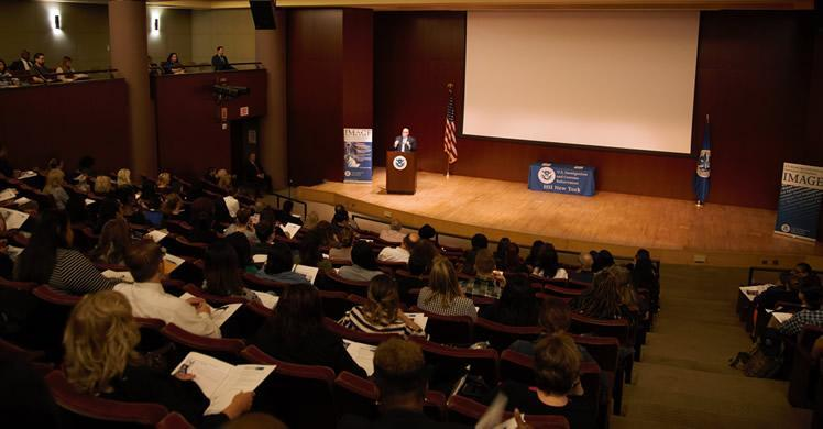 SAC Melendez speaking to participants