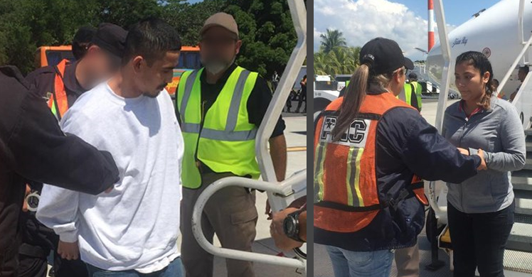 South Texas ICE officers remove 2 fugitives wanted by Salvadoran authorities for separate aggravated homicides, other charges
