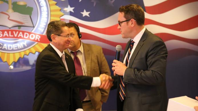 EAD Benner with El Salvador Attorney General
