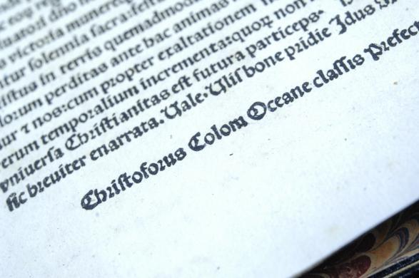 ICE and DOJ return Christopher Columbus letter to Spain
