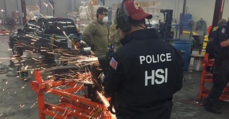 US and Australian authorities intercept 1.7 tons of methamphetamine bound for Australia from Los Angeles/Long Beach Seaport