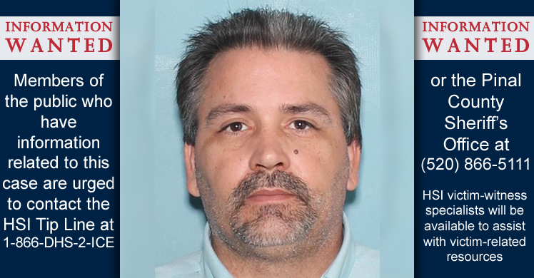 Agencias del orden público buscan ayuda del público para ayudarles a identificar víctimas adicionales en caso de explotación infantil en Phoenix