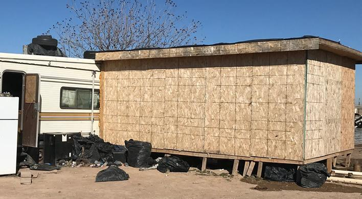 ICE discovers 67 illegal aliens, including 6 unaccompanied teens, in deplorable conditions in a shed in NM