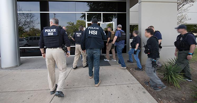 ICE executes federal criminal search warrant in North Texas