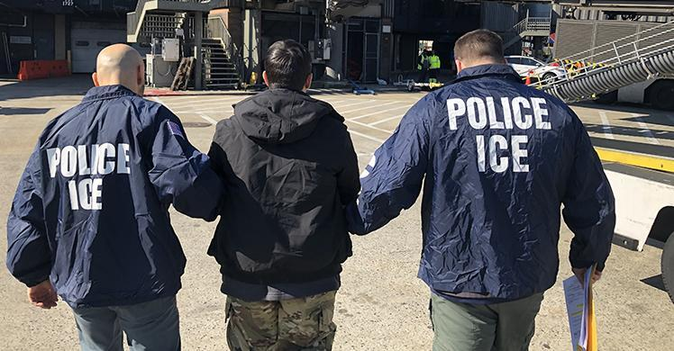 ICE ERO removes Canadian national with long history of criminal convictions