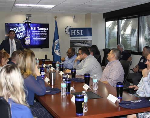 HSI Tampa graduates Citizens' Academy class