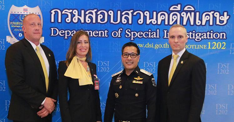 ICE Homeland Security Investigations, Thailand Department of Special Investigation, Australian Federal Police and INTERPOL announce results of international child exploitation investigation