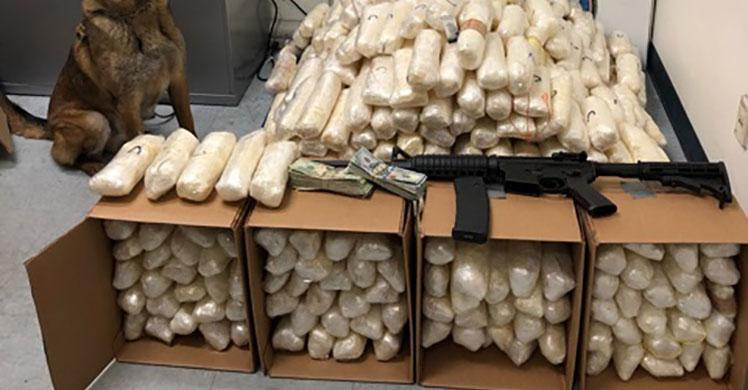 ICE HSI Yuma seizes cache of illicit goods