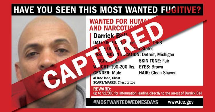 Nearly 3-year manhunt ends in arrest of HSI most wanted fugitive