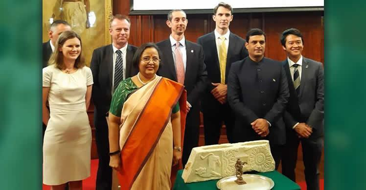 Indian artifacts repatriated to home country during London ceremony