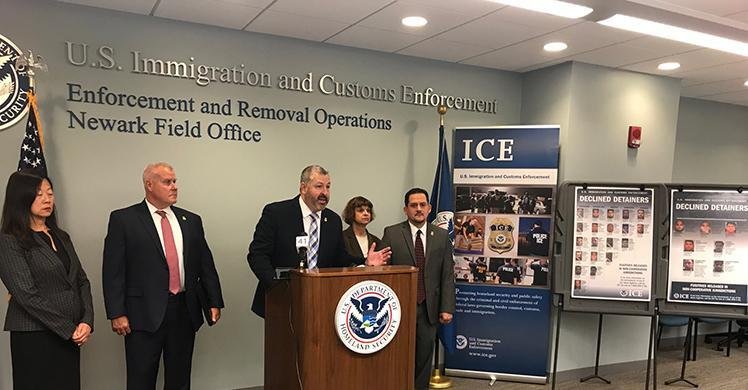 ICE arrests 54 in NJ during a week-long enforcement action targeting at-large criminal aliens released into the community