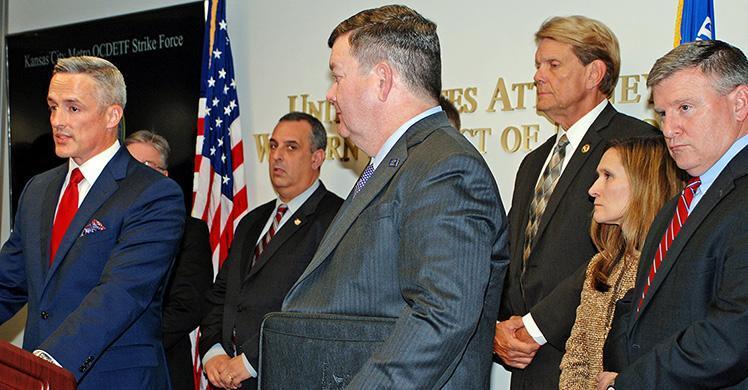 ICE HSI joins Kansas City strike force targeting drugs, violence