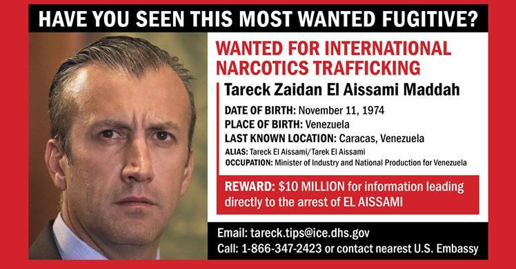 If you have information about the whereabouts of this fugitive, please contact tareck.tips@ice.dhs.gov