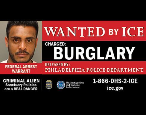 ICE launches billboards in Pennsylvania featuring at-large public safety threats