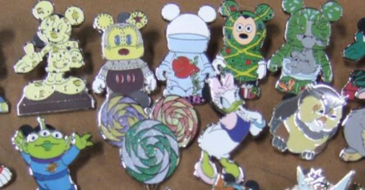 Counterfeit Disney pins