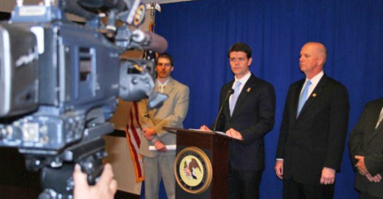 Director Morton at Dean Sentencing in Pittsburgh