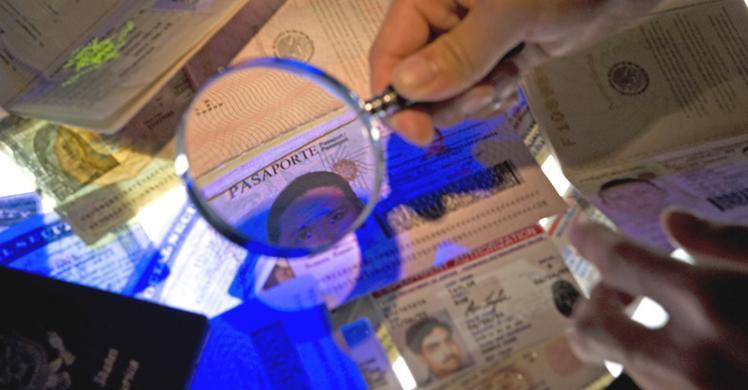 ICE examining documents