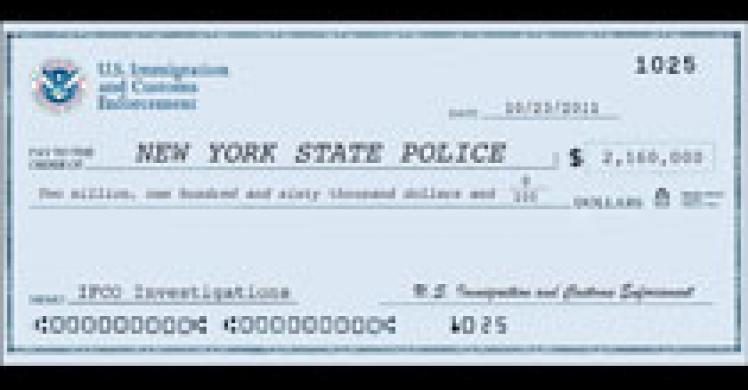 Check from IFCO Investigation