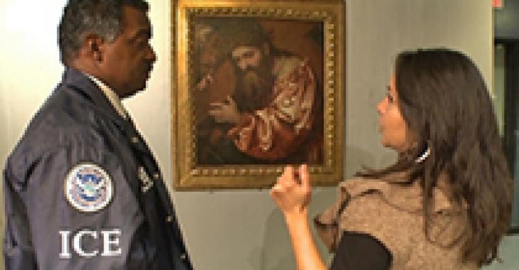 ICE seizes rare painting stolen by the Nazis during World War II
