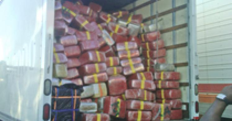7 arrested after feds seize 9 tons of marijuana near Otay Mesa border crossing