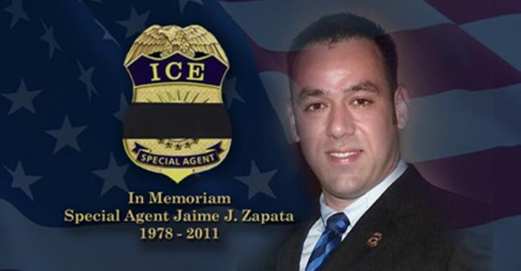 ICE remembers fallen Special Agent Jaime Zapata