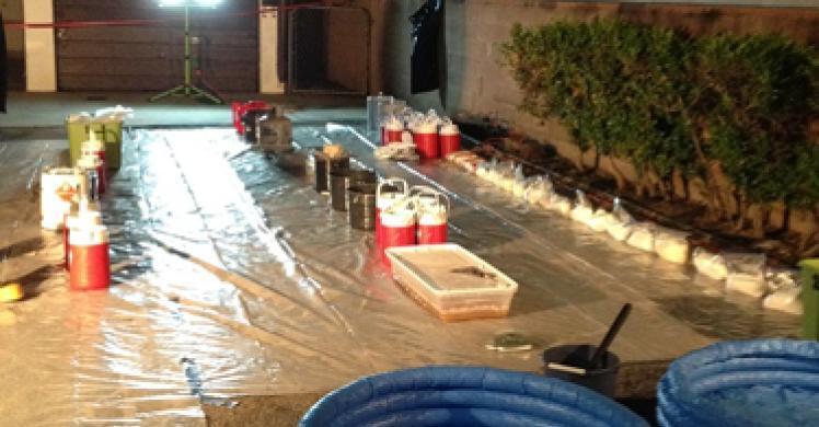 Authorities dismantle 2 major Los Angeles-area drug labs