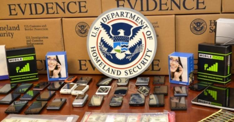 HSI dismantles counterfeit cell phone operation, 3 arrested