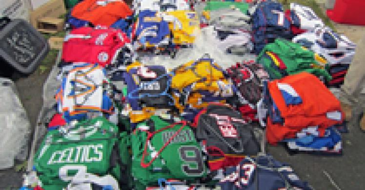 Rhode Island man arrested for selling suspected counterfeit merchandise