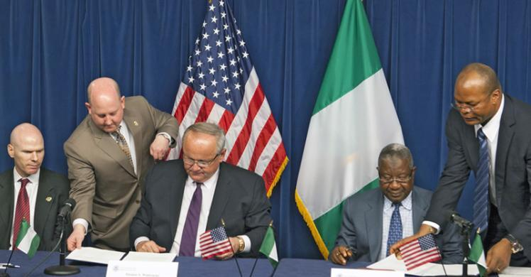 Top Story Us And The Republic Of Nigeria Sign The Customs Mutual