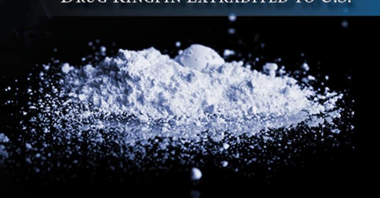 Colombian drug kingpin extradited to US following HSI, DEA investigation