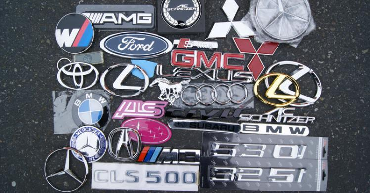Defendant admits selling counterfeit car logos seized by BEST Seattle.