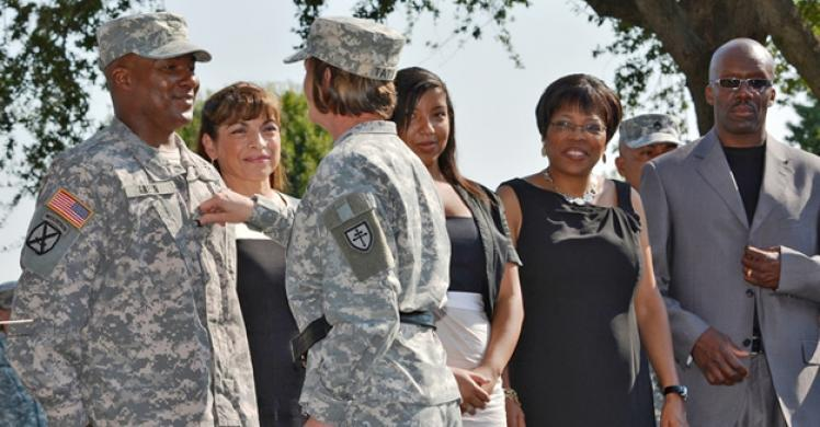 ICE special agent promoted to brigadier general in Army reserve