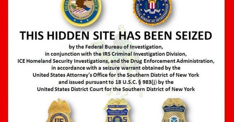 HSI seizes Silk Road underground black market website