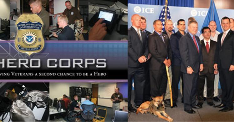 Veteran 'HEROs' join ICE efforts to bring child predators to justice
