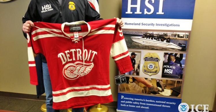 HSI operation nets $700,000 in fake NHL goods.