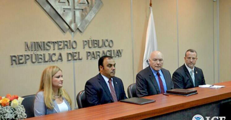 Paraguay signs agreement to improve information exchange regarding child pornography investigations.