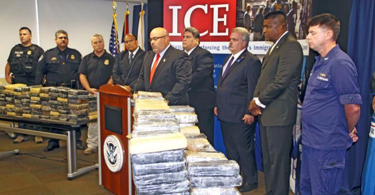 ICE, Caribbean Corridor Strike Force seize $50 million worth of cocaine, arrest 2