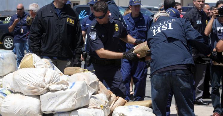 ICE, Caribbean Corridor Strike Force seize 3,500 pounds of marijuana, arrest 5