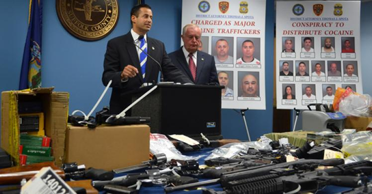 Suffolk County, ICE HSI announce Long Island cocaine ring bust