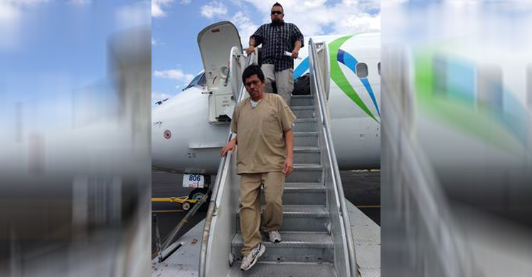 ICE Dallas officers remove 3-time deported Salvadoran national
