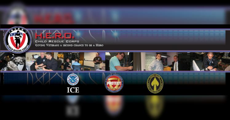 "Veteran ""HEROs"" join ICE efforts to bring child predators to justice"