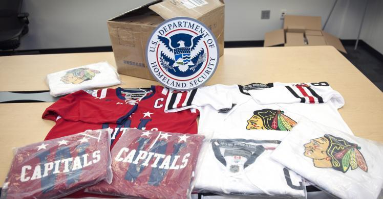 Operation Team Player nets more than $25,000 worth of fake goods