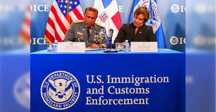 ICE, Dominican Republic sign memorandum of cooperation