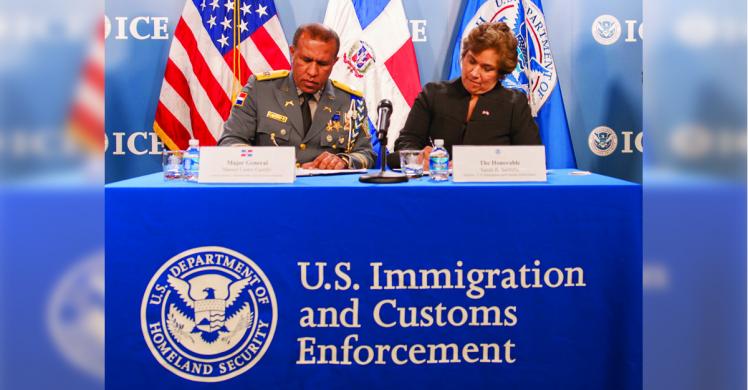 ICE, Dominican Republic sign memorandum of cooperation