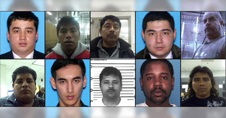 HSI seeks public tips to help locate 10 human trafficking fugitives