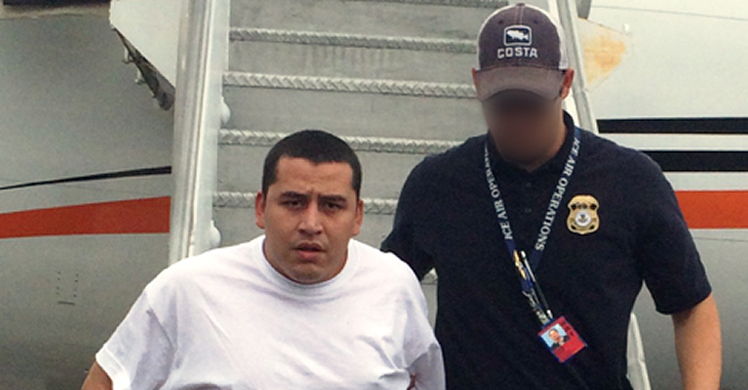 ICE San Antonio deports Salvadoran MS-13 gang member wanted for aggravated extortion