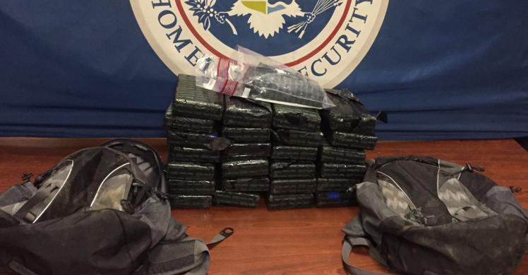 ICE investigating CBP seizure of 25 kilos of cocaine bound for Georgia