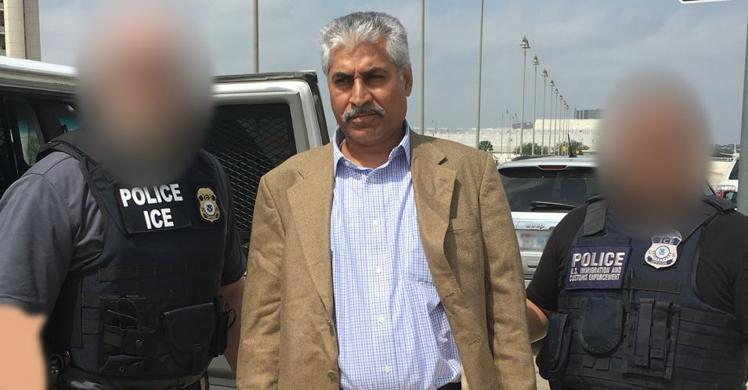 ICE removes Pakistani who conspired to launder proceeds of terrorist financing
